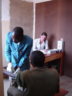 HIV testing by CHAKUNIMU in a village setting